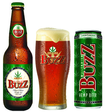 Millenium Buzz Hemp Beer